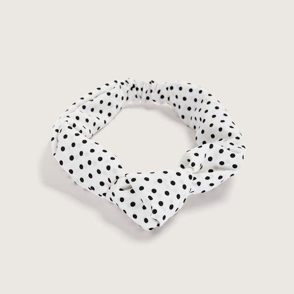 NWT 3/$20 Satin Polka Dot Headband